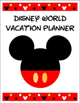 Disney Binder Cover