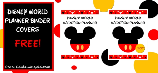 Disney World Planner Covers h2