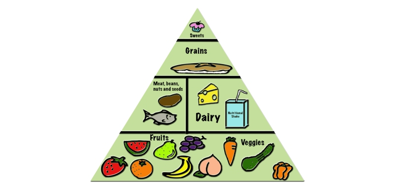 Family Food Pyramid