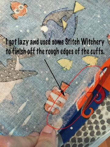 Stitch Witchery Short Cut