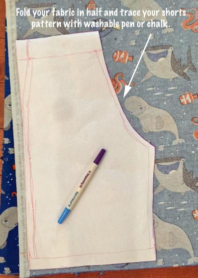 Tracing Shorts Pattern