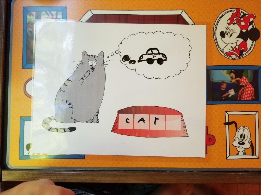 sight word practice mat