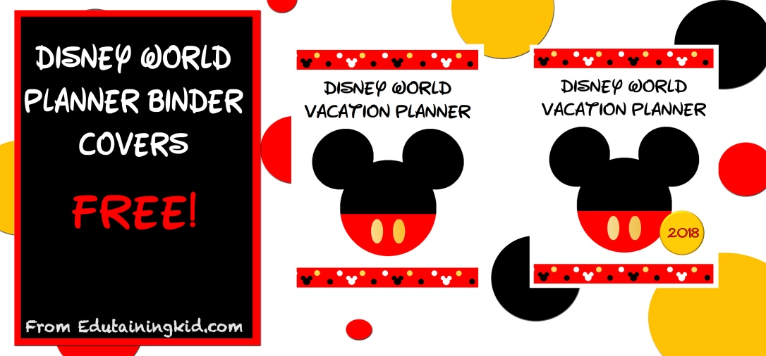 Disney World Planner Covers 2018-1