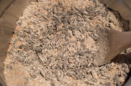 mix birdseed flour