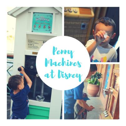 disney penny machines