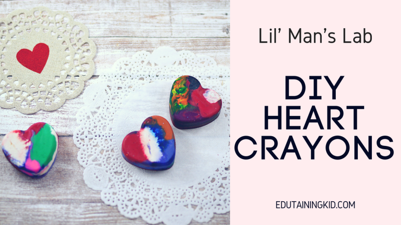 DIY Heart Crayons