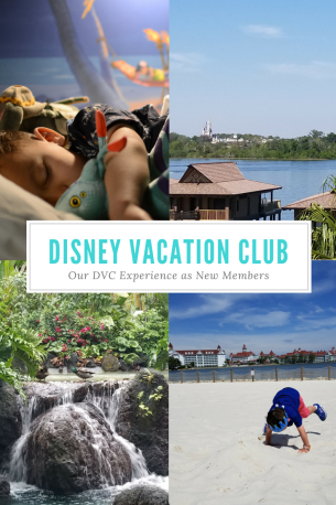 disney vacation club first experience