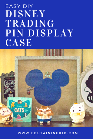 Easy DIY Disney Trading Pin Display Case