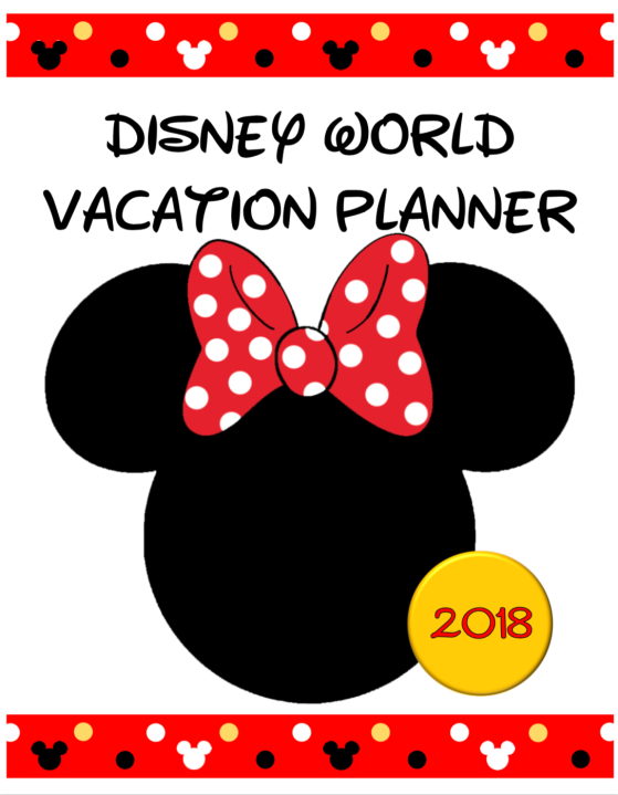 Minnie Mouse Planning Cover 2018